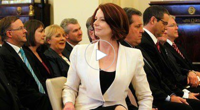موقف محرج لرئيسة وزراء إستراليا في الهند