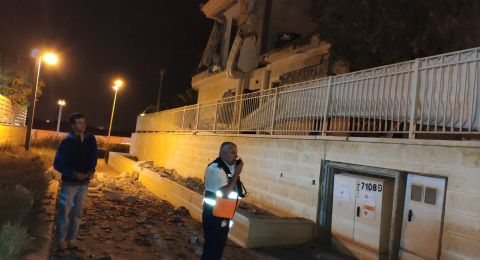 بعد سقوط صاروخ في بئر السبع، اسرائيل تبدأ بقصف قطاع غزة!