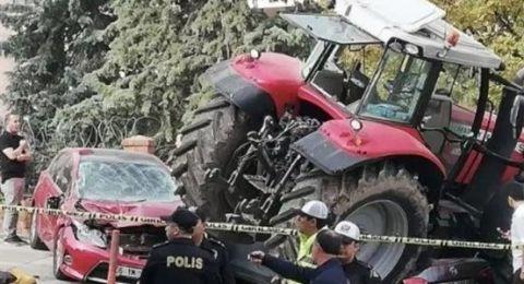 شرطة أنقرة تطلق النار على سائق جرار عند سفارة إسرائيل