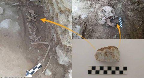 العثور على بقايا طفل مصاص دماء في روما