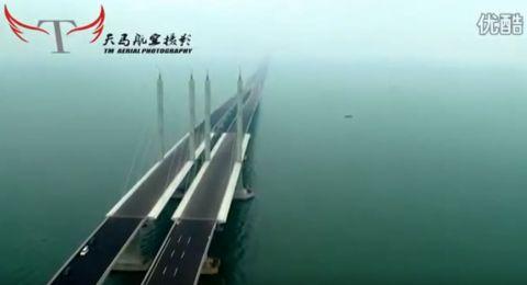 افتتاح أطول جسر بحري في العالم جنوبي الصين