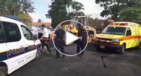 مصرع سائق جرافة من أم الفحم بحادث عمل قرب نتانيا