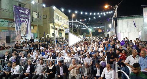 حضور بالالاف في المهرجان الشعبي للرئيس والمرشح علي سلام في حي بير الامير وجبل الدولة