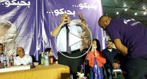 اجتماع حاشد لعلي السلام يتحول الى مهرجان في حي كرم الصاحب في الناصرة