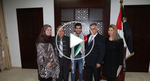 النجم خلايله: وصولي إلى بيروت كسر الحواجز ورفع اسم فلسطين عاليا