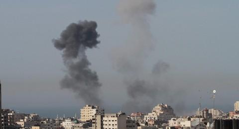 إسرائيل تقصف موقعًا للمقاومة في غزة