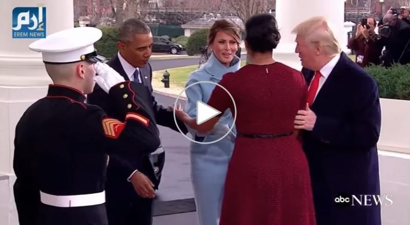 موقف محرج لميشيل أوباما خلال مراسيم تنصيب ترامب رئيسًا للولايات المتحدة