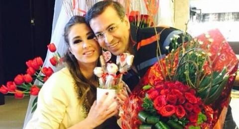 """كيف احتفلت أنابيلا هلال وزوجها بـ """"عيد الحب"""""""