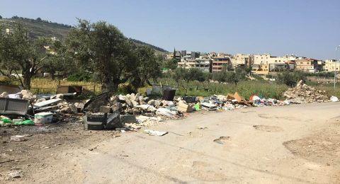 شعب: من المسؤول عن إلقاء النفايات وتقبيح وجه البلدة؟