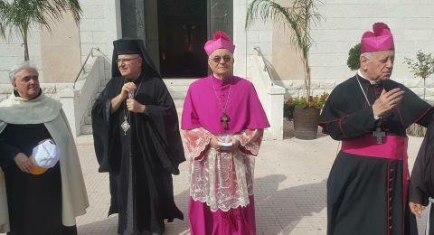 حيفا: الالاف يشاركون بمسيرة طلعة العذراء