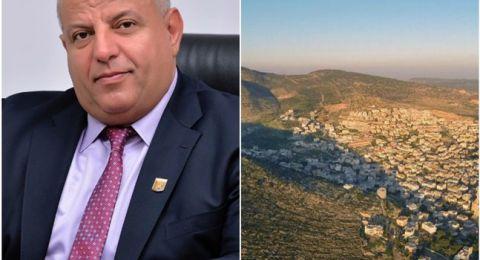 عماد دحلة يزف بشرى تسويق ١٠٠ قسيمة بناء و١٢٠ وحدة سكنية لاهالي طرعان أيار القادم.