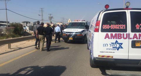 اصابة شرطي وشاب من الطيبة بجروح متوسطة اثر حادث طرق