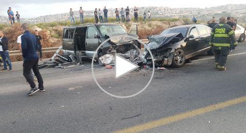 اصابة خطيرة لكناوي (33 عاما) في حادث طرق بالقرب عيلوط