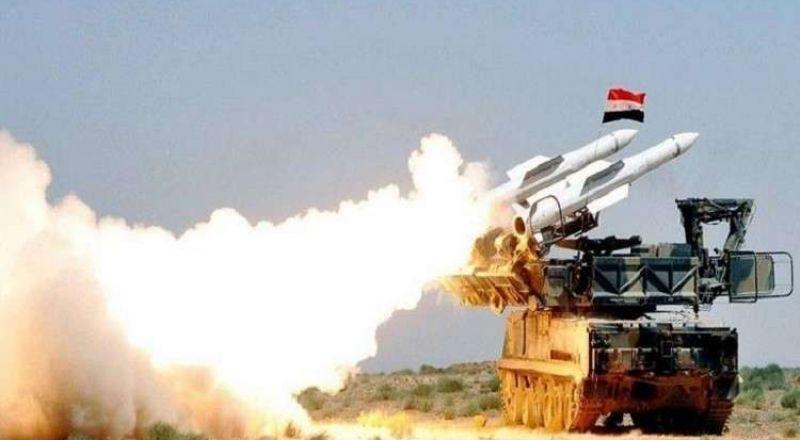 الدفاعات السورية تحبط غارة صاروخية فجر اليوم