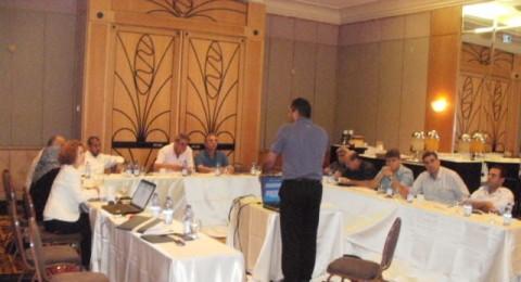 مركز انجاز يعقد لقاءه الأول ضمن ملتقى الاثنا عشر لرؤساء السلطات المحلية العربية