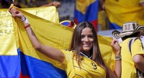 جميلات كولومبيا يتفوقن على إنجلترا وإيطاليا