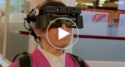 نظارات ذكية تساعد المكفوفين جزئيا على الرؤيا