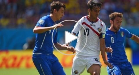 مونديال 2014: خسارة مذلة لإيطاليا وفوز تاريخي لكوستاريكا