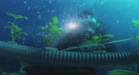 شاهد حديقة لإنتاج الخضروات تحت الماء في إيطاليا!