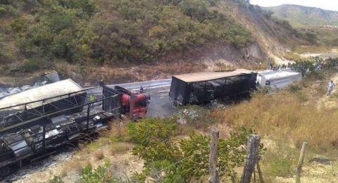 8 قتلى بحادث اصطدام 11 سيارة في البرازيل