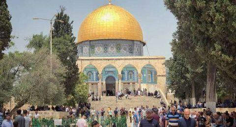 مفتي القدس .. يندد بقانون