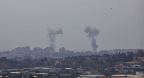 استشهاد مواطن ونجله في انفجار غامض غرب مدينة غزة