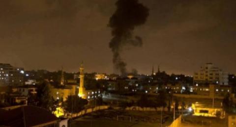 حماس ترد  القصف بالقصف واسرائيل تعلن مقتل جندي
