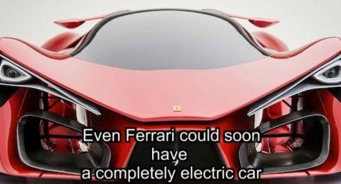 فيراري تطلق أسرع سيارة كهربائية في العالم