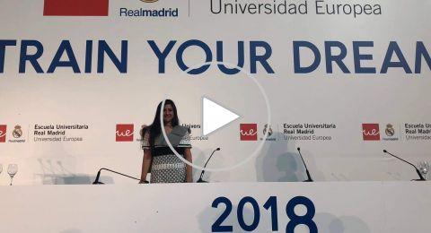 الطيباويّة لينا طيبي .. اولّ خريجة من البلاد من جامعة ريال مدريد