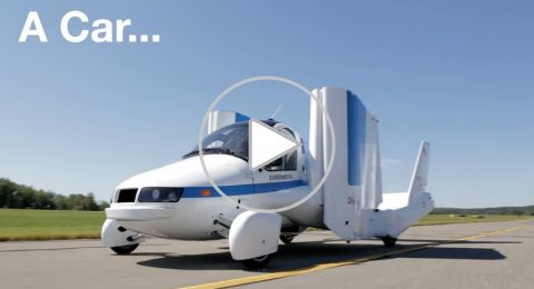 شركة تبدأ ببيع سياراتها الطائرة
