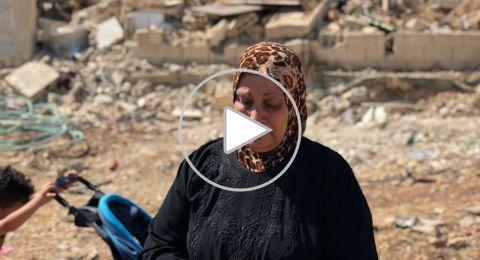 عائلتا شوامرة وابو ارميلة تضطران لهدم منازلها ذاتيا تفاديا لتسليمها للمستوطنين