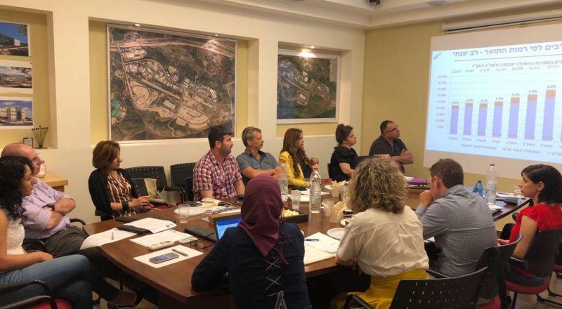 وضع خطة عمل لدمج الأكاديميين العرب في الهايتك في الحديقة الصناعية بار ليف
