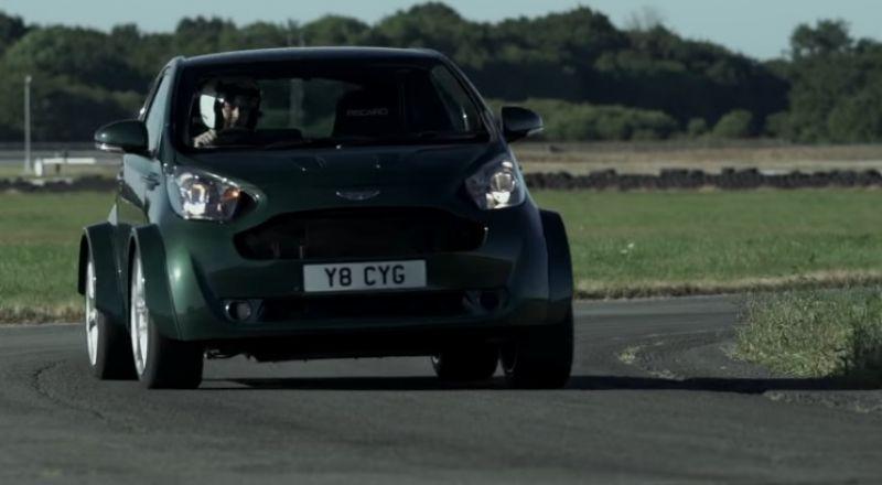 أستون مارتن تطور سيارة صغيرة بقدرات فائقة