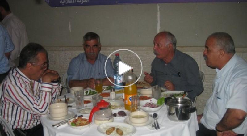 الحركة الاسلامية في الرينة تنظم افطار رمضان