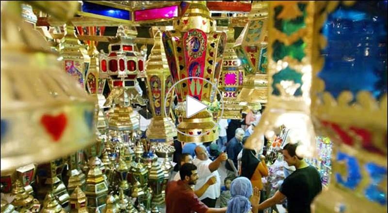 اجواء رمضان في مصر