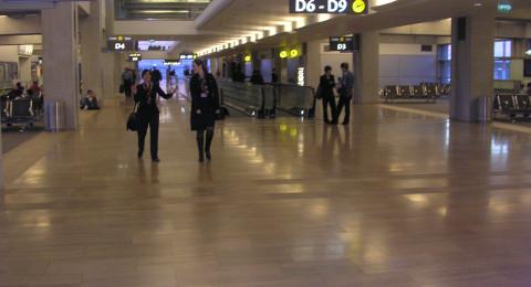 التشويشات في مطار بن غريون مستمرة