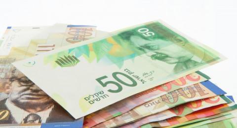 أسعار العملات مقابل الشيكل لليوم الاثنين