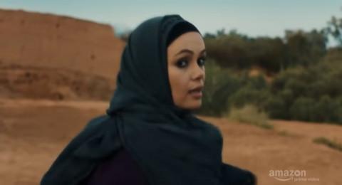 ممثلة سعودية تشارك نجم هوليوودي سلسلة أمازون القادمة!