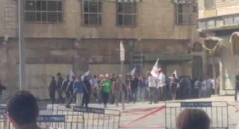 الخليل: اعتصام ضد الاستيطان