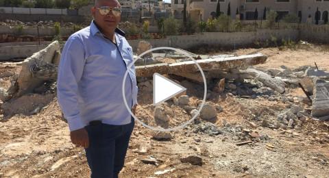 جرافات اسرائيلية تهدم مبنى سكنيا في القدس