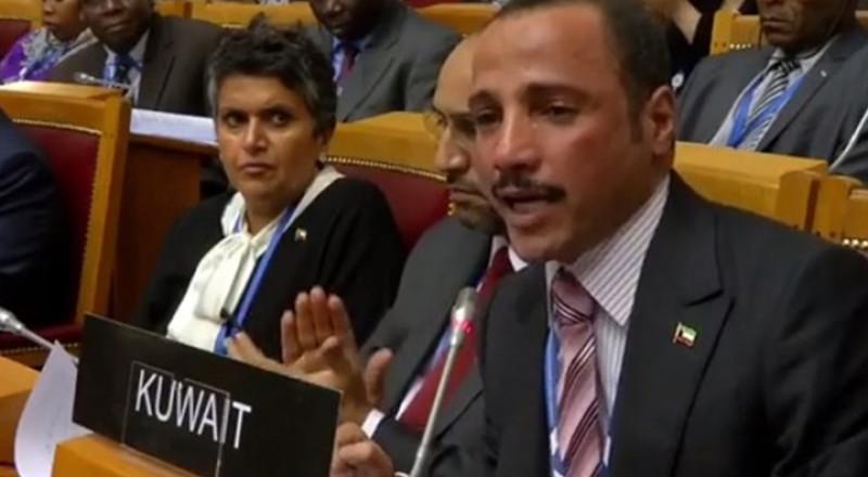 رئيس مجلس الأمة الكويتي يطرد وفدا إسرائيليا من اجتماع دولي وسط تصفيقات الحضور