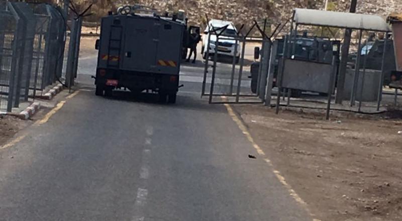 محكمة سالم العسكرية: اعتقال شاب فلسطيني كان بحوزته عبوة ناسفة