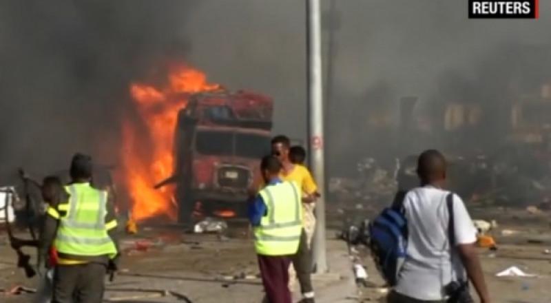 الصومال: ارتفاع حصيلة قتلى تفجيري مقديشو إلى 276