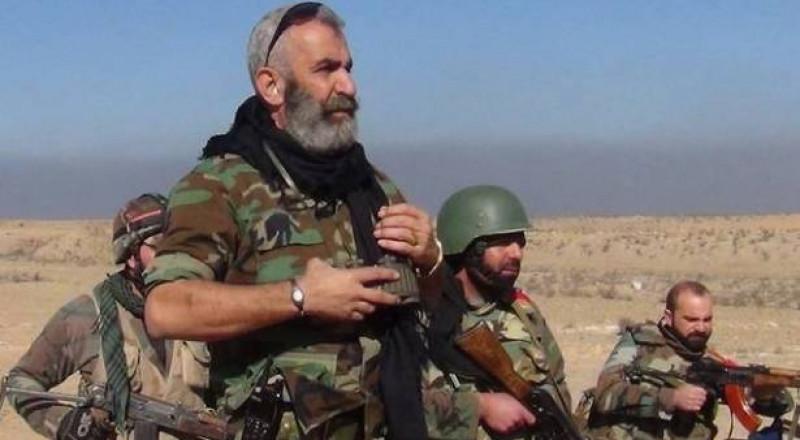 استشهاد العميد عصام زهر الدين قائد القوات السورية في دير الزور