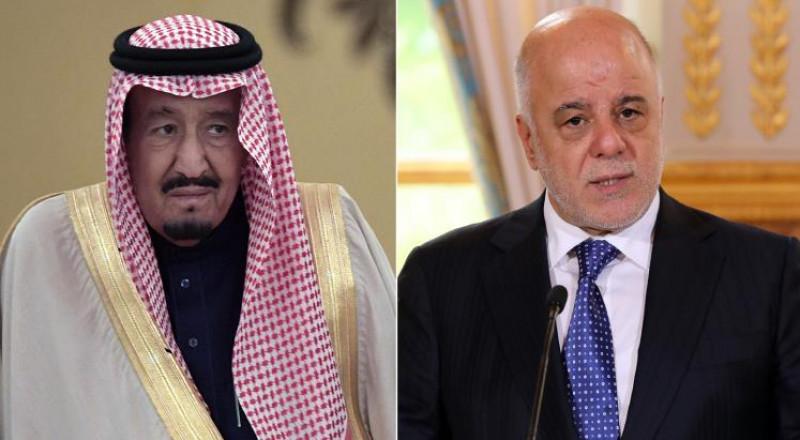 الملك سلمان يدعو العبادي لزيارة السعودية