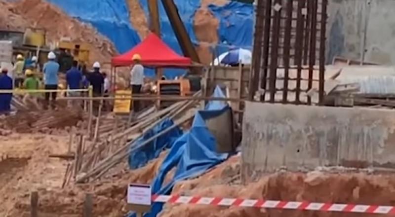 ماليزيا: انهيار أرضي يدفن قرابة 20 شخصا