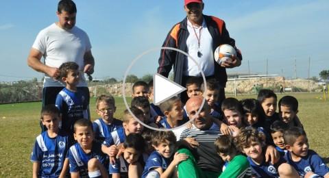 مدرب الاشبال محمود عمشة: ربما تعيد الطيبة امجادها بكرة القدم!