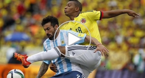 الأرجنتين تحقق الفوز الأول في تصفيات كأس العالم على حساب كولومبيا
