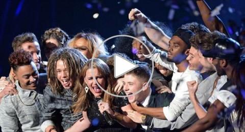 سام بايلي تتوّج X-Factor 2013 وسط الدموع