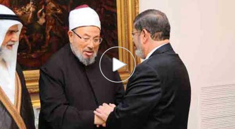 إحالة مرسي والقرضاوي وعناصر من